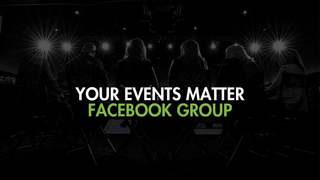 YOUR EVENTS MATTER FB GROUP